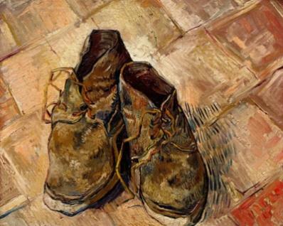 Scarpe vecchie: metafora della vita