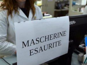 Coronavirus: esaurite mascherine in Italia